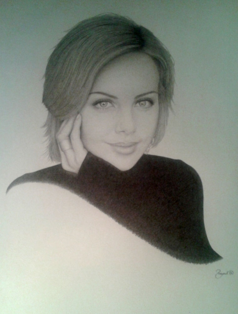 Charlize Theron by BudPog